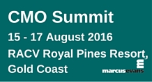 CMO Summit 2016