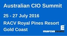 Australian CIO Summit 2016