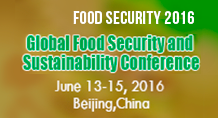 Global Food Security and Sustainability Conference (Food Security 2016)