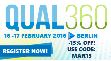 QUAL360 Europe 2016