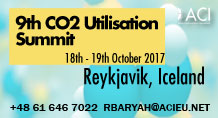9th Carbon Dioxide Utilisation Summit