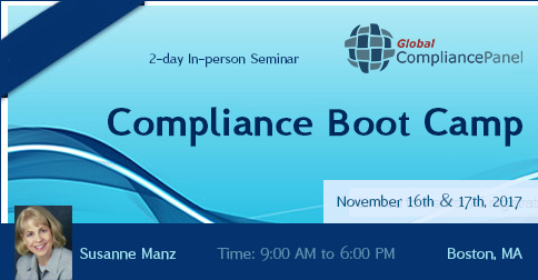 Compliance Boot Camp
