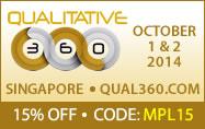 Qual360 Asia 2014