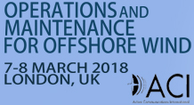 Operations & Maintenance for Offshore Wind 2018