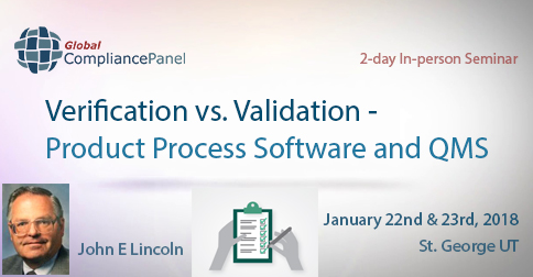 Verification vs. Validation - Product Process Software and QMS