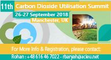 11th Carbon Dioxide Utilisation Summit