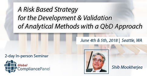 A Risk Based Strategy for the Development & Validation of and Validation of Analytical Methods with a QbD Approach