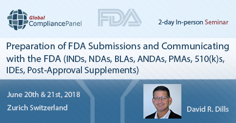 Preparation of FDA Submissions and Communicating with the FDA (INDs, NDAs, BLAs, ANDAs, PMAs, 510(k)s, IDEs, Post-Approval Supplements)