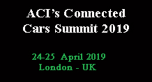 2nd Connected Car Summit
