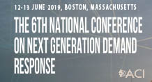 6th National Conference on Next Generation Demand Response
