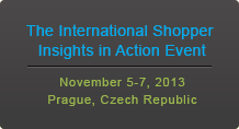 The International Shopper Insights in Action Event