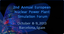 2nd Annual European Nuclear Power Plant Simulation Forum