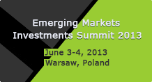 Emerging Markets Investments Summit 2013