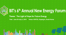 The 6th Annual New Energy Forum (NEF-2016)