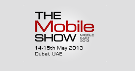 Market Publishers Calls for Participation in Mobile Show Middle East 2013 in Dubai, UAE